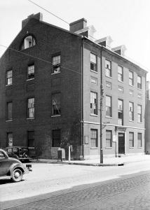 Carroll Mansion, 1936. Image courtesy Library of Congress, HABS.