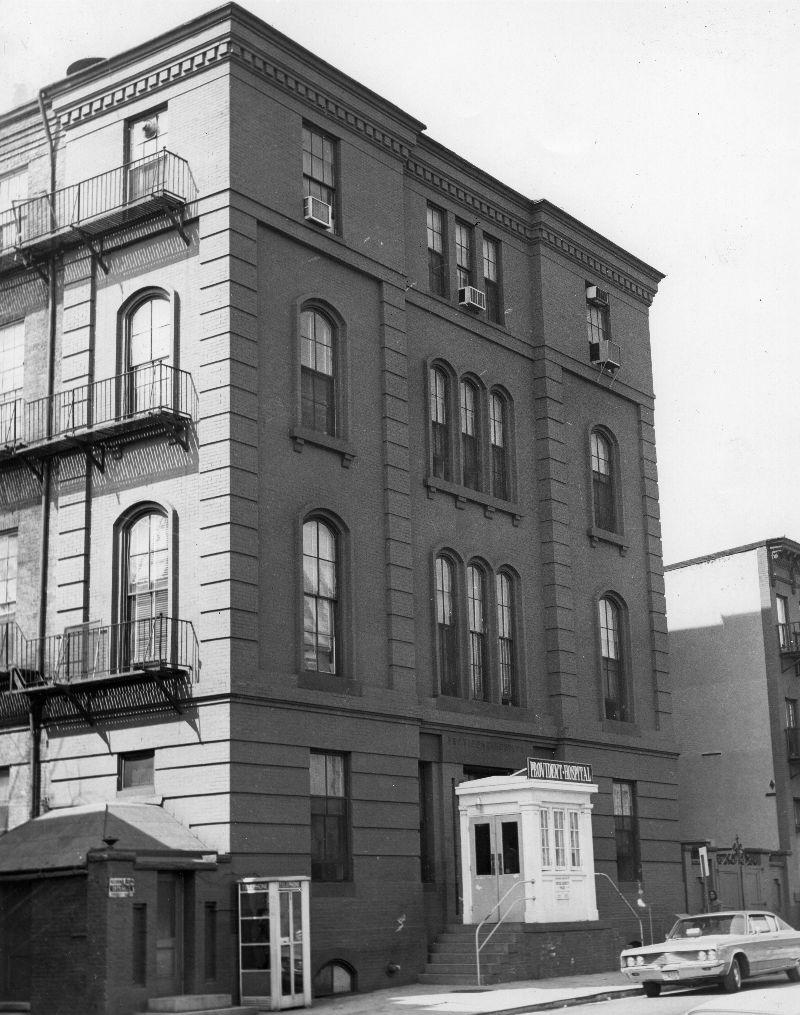 Provident Hospital. Courtesy Maryland State Archives, SC 5971 1 622 .