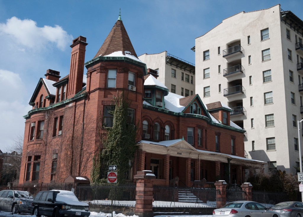 Captain Isaac Emerson Mansion at 2500 Eutaw Place, Eli Pousson, 2015 February 19.