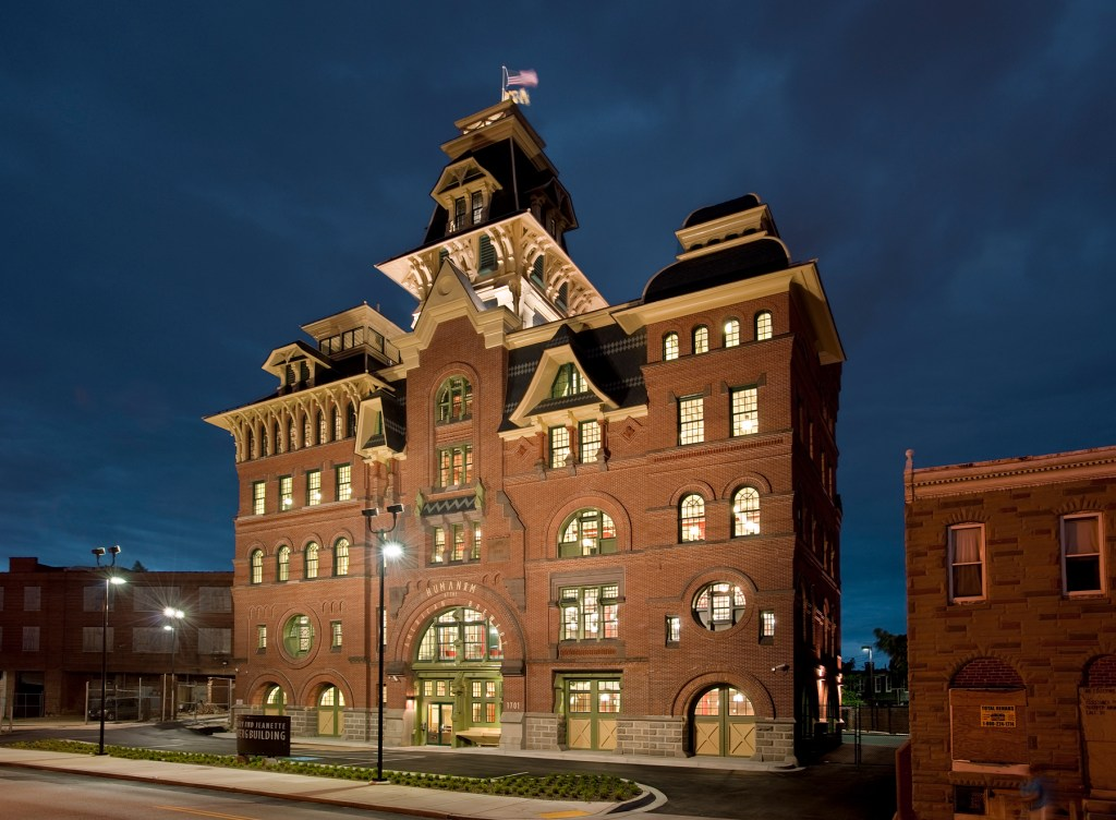 American Brewery. Photograph by Paul Burk.