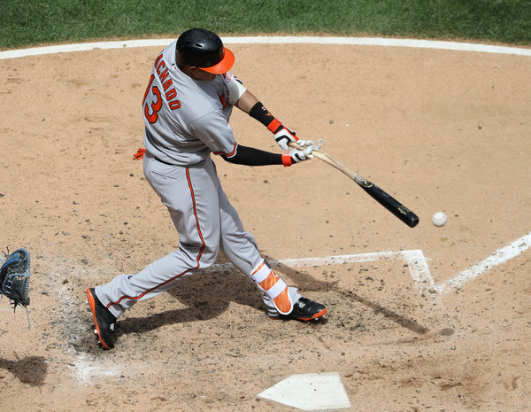 Machado slugs three HRs as Orioles rout White Sox
