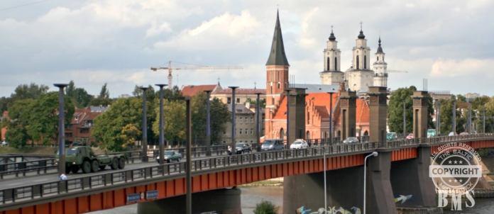 Litauen: Sowjet-Symbole von Vytautas-Magnus-Brücke entfernt
