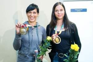 Donata Vištartaitė ir Milda Valčiukaitė