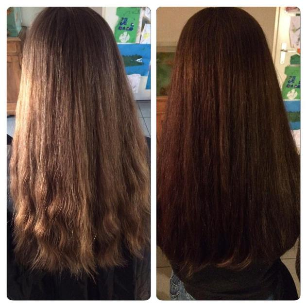 Before and after before after haircolor wintercolor hairstyle love thehellip