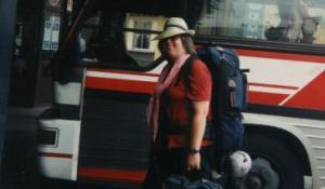 Unterwegs in Südkorea 1991