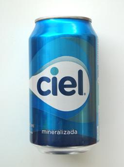 La nueva lata de Ciel mineralizada