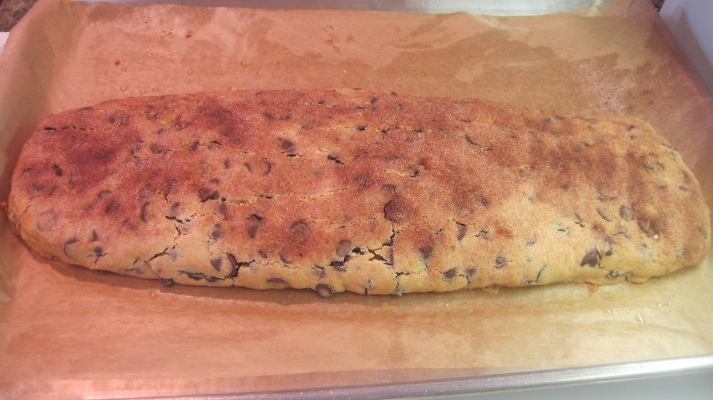 Chocolate Chip Mandelbrot and Almond Biscotti (2/3)