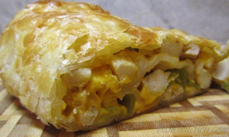 The Texan style Egg roll