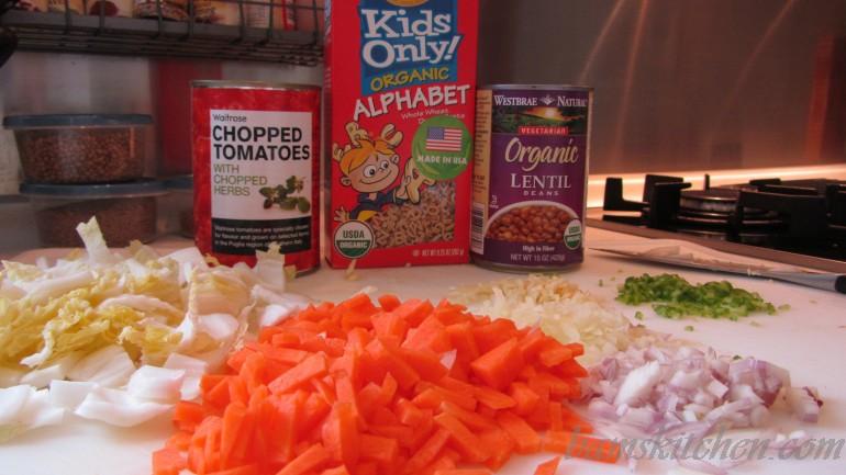 Zippy Veggie ABC Soup