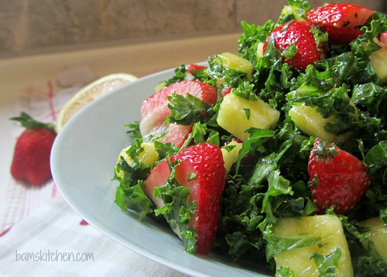 Kale With Oranges And Mustard Dressing Recipe — Dishmaps