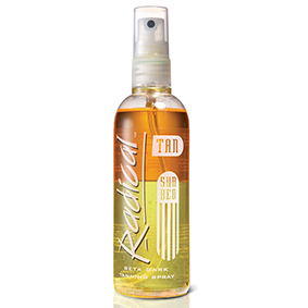 Radical-Beta-Radical rapid sun bed tanning spray dark