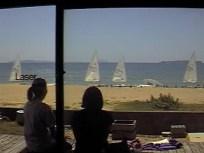 window for beach