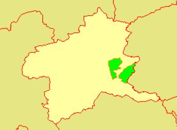 地図-群馬県桐生市-2006