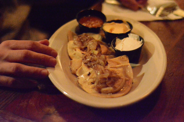Pierogies at POPE on Passyunk