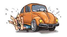 banger rally car