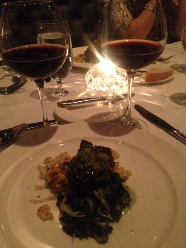 Pork Belly paired with a smoked serrano pepper porter, brewed by Patrick Sheehan