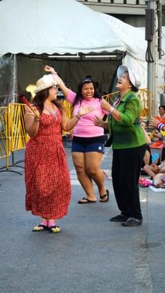 Dancers at Asok