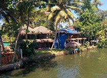 Malayalam's Resort from the house boat