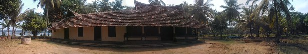 Rama's house from north