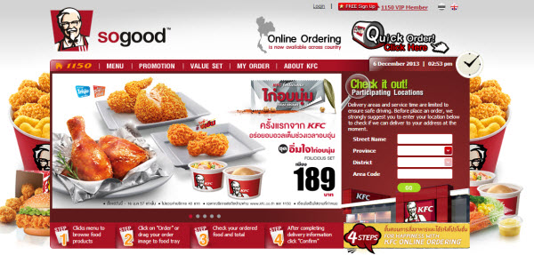 Fast Food Delivery Websites