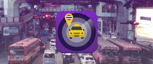Rate Thai taxis with DLT Check In