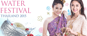 Celebrate Songkran Day along Chao Phraya River in the Water Festival 2015