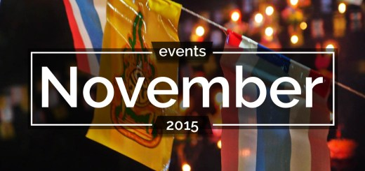 Bangkok events november 2015