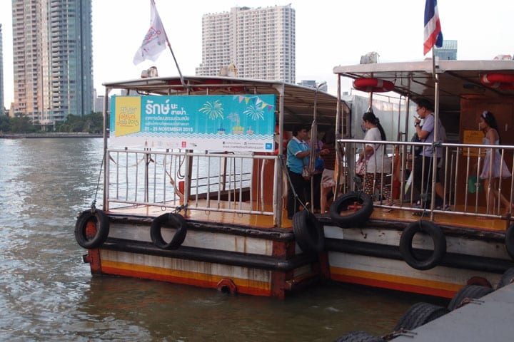 River Festival Shuttle boat at Asiatique