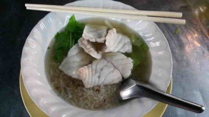 Boiled Rice with Fish