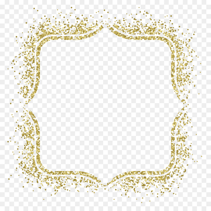Fullsize Of Gold Glitter Border