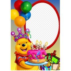 Exciting Winnie Pooh Birthday Cake Happiness Party Joyeux Anniversaire Winnie Pooh Birthday Cake Happiness Party Joyeux Anniversaire Winnie Pooh Birthday Train Winnie Pooh Birthday Cake