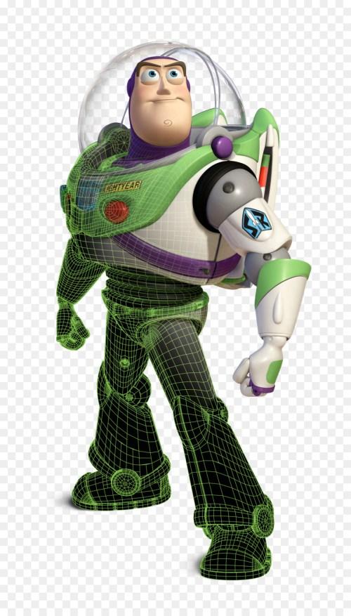 Medium Of Toy Story Buzz Lightyear