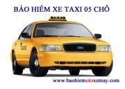 Bảo hiểm TNDS bắt buộc xe taxi 05 chỗ