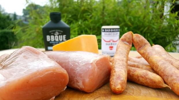 Zutaten für die Schweinefilet Bacon Bomb