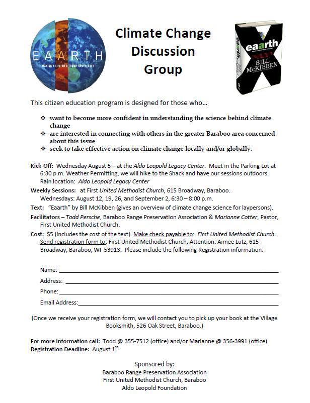 Eaarth Group Flyer