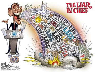 liar in chief 400 Documented Obama Lies