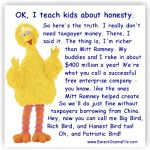 The Big Bird Debate