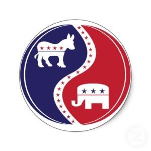 political yin yang