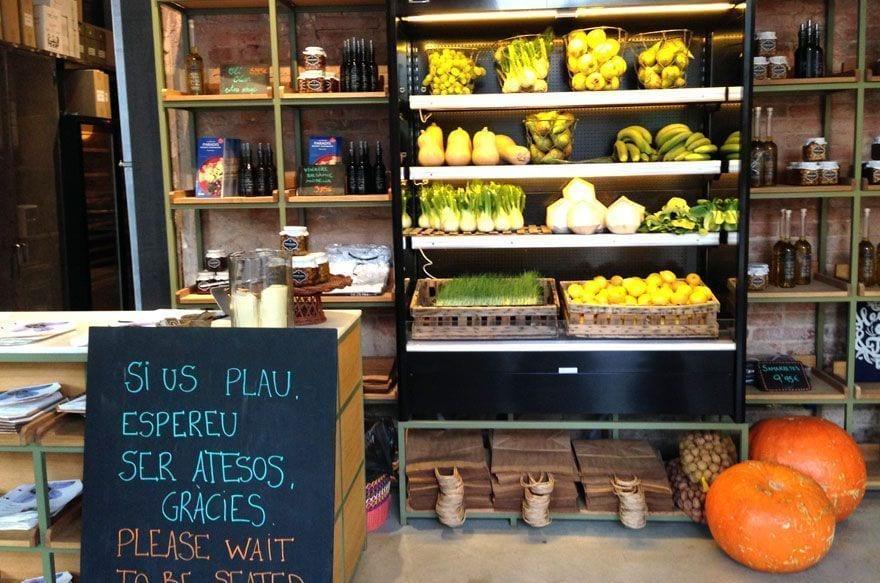 Flax & Kale restaurant Barcelona
