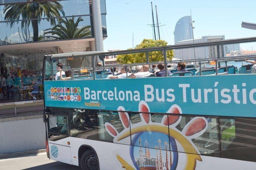 Bus turistic barcelona
