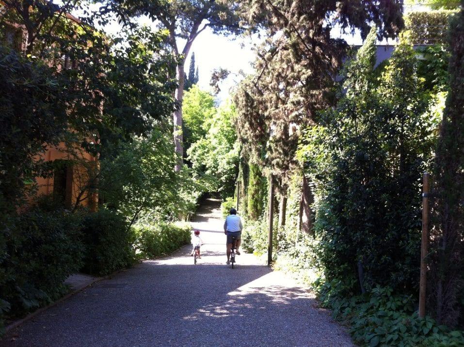 Jardines de la tamarita de barcelona barcelona colours - Jardines de barcelona ...