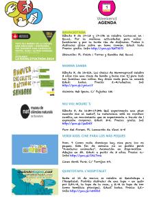 Agenad actividades para marzo en Barcelona