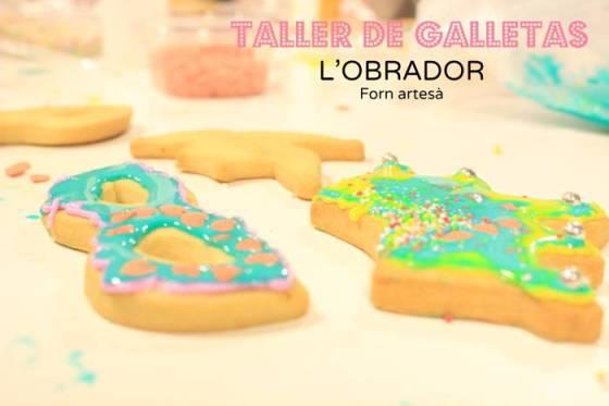 Taller de galletas niños