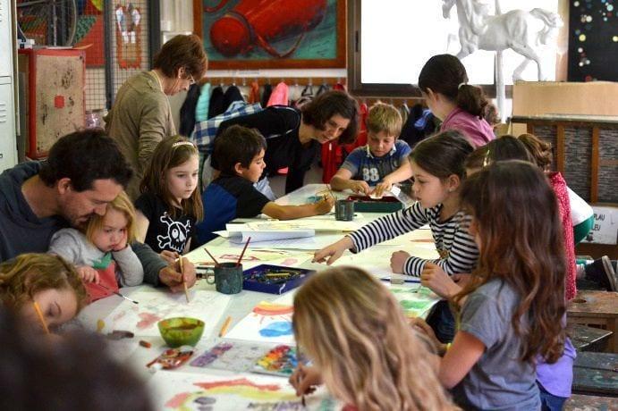 clases dibujo infantil barcelona