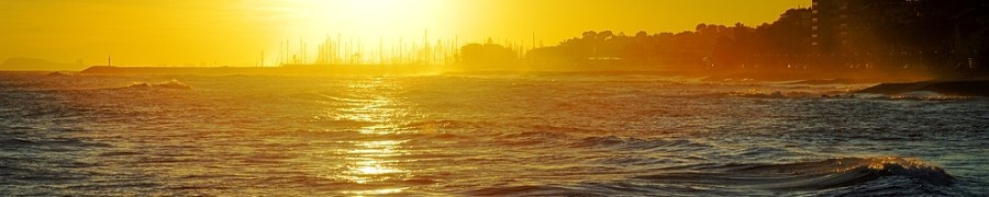 Sunset in the Sea, Barcelona Photography Courses