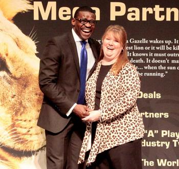 Felicia Barlow Clar And Michael Irvin