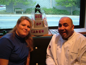 Felicia Barlow Clar With Duff Goldman