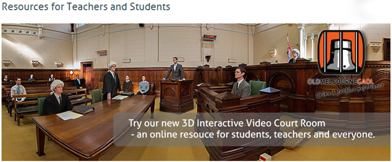 3D Interactive Courtroom