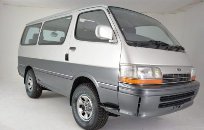 Must Not Look: 1991 Toyota HiAce 4WD