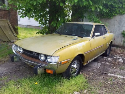 Classic Celica: 1973 Toyota Celica ST